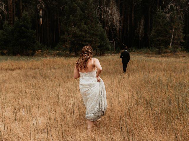 Dallas and Madison's Wedding in Yosemite National Park, California 26