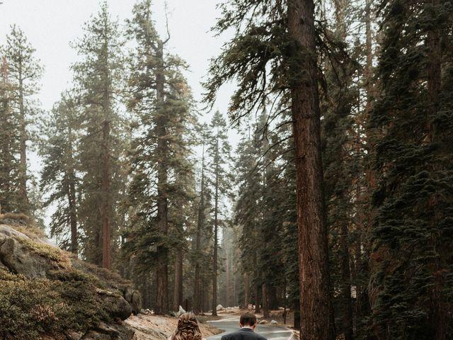 Dallas and Madison's Wedding in Yosemite National Park, California 30