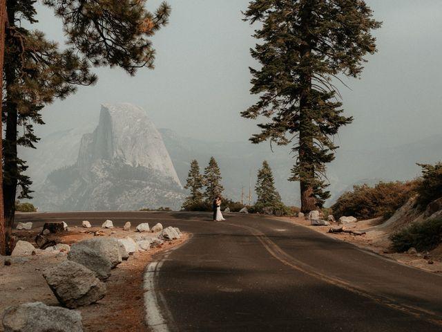 Dallas and Madison's Wedding in Yosemite National Park, California 31