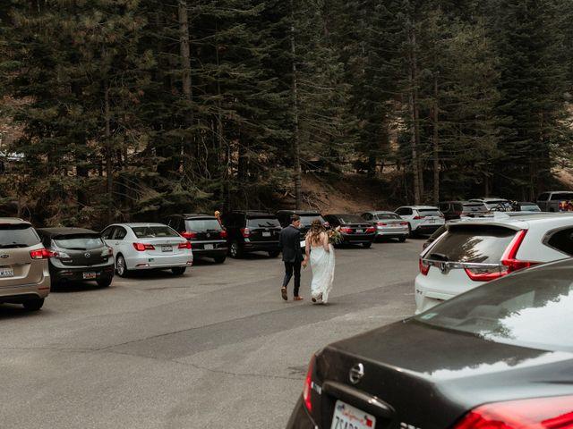 Dallas and Madison's Wedding in Yosemite National Park, California 32