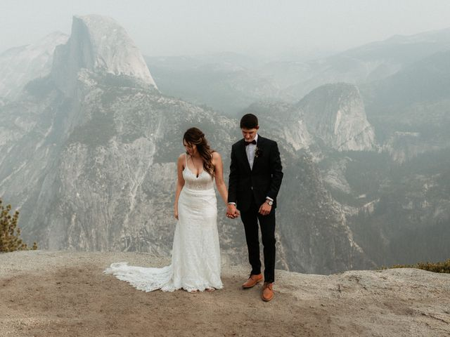 Dallas and Madison's Wedding in Yosemite National Park, California 33
