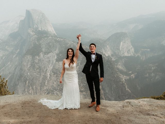 Dallas and Madison's Wedding in Yosemite National Park, California 34