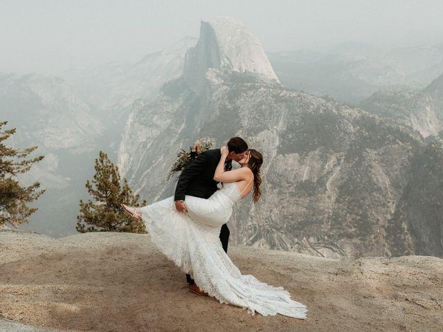 Dallas and Madison's Wedding in Yosemite National Park, California 36