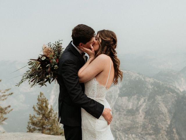 Dallas and Madison's Wedding in Yosemite National Park, California 39