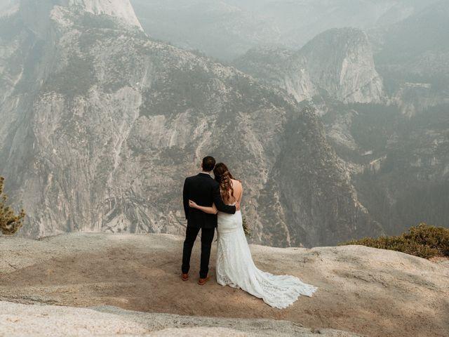 Dallas and Madison's Wedding in Yosemite National Park, California 41