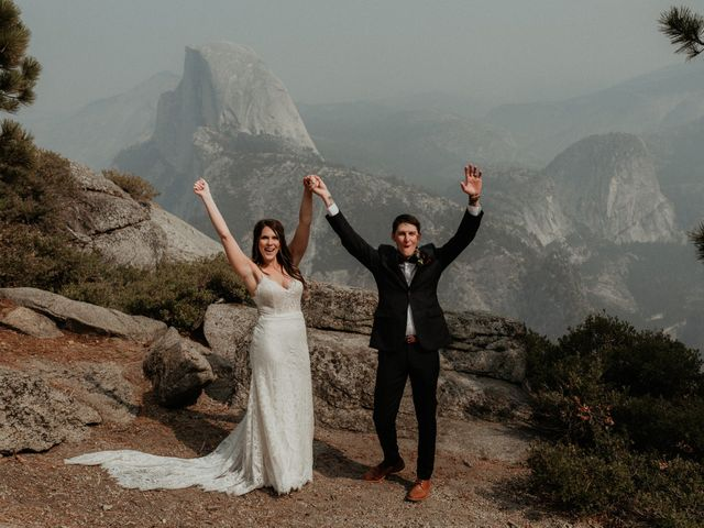 Dallas and Madison's Wedding in Yosemite National Park, California 43