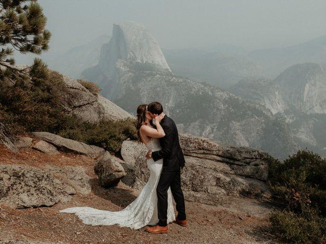 Dallas and Madison's Wedding in Yosemite National Park, California 44