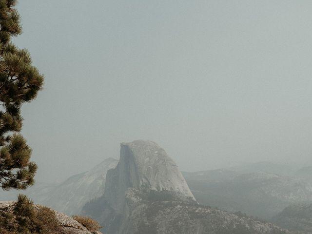 Dallas and Madison's Wedding in Yosemite National Park, California 45