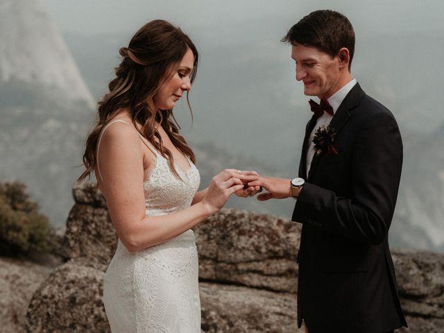 Dallas and Madison's Wedding in Yosemite National Park, California 47
