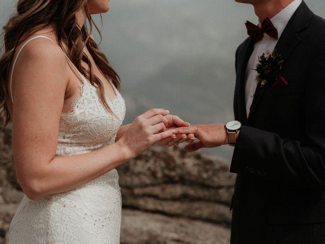 Dallas and Madison's Wedding in Yosemite National Park, California 48