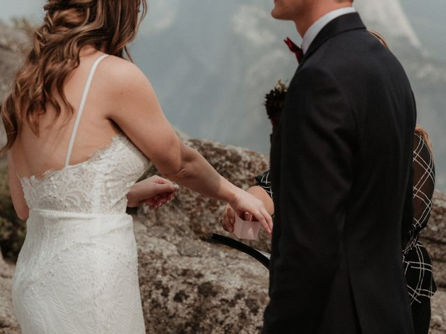 Dallas and Madison's Wedding in Yosemite National Park, California 49
