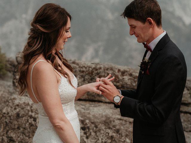 Dallas and Madison's Wedding in Yosemite National Park, California 51