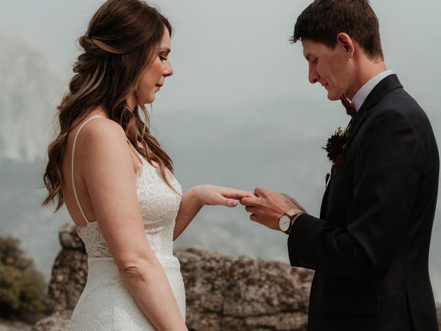 Dallas and Madison's Wedding in Yosemite National Park, California 52