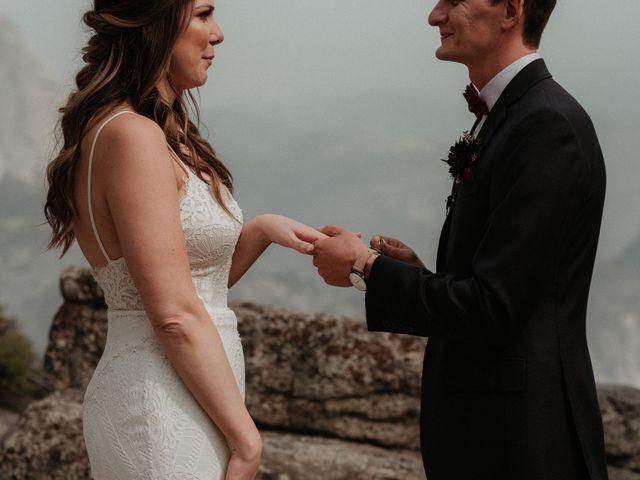 Dallas and Madison's Wedding in Yosemite National Park, California 53