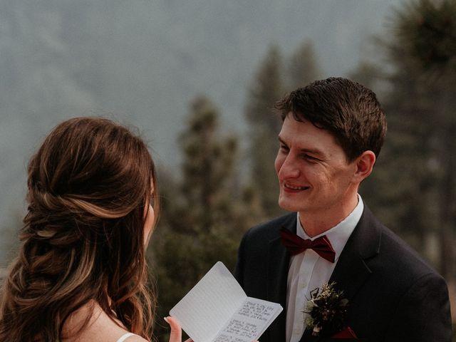 Dallas and Madison's Wedding in Yosemite National Park, California 55