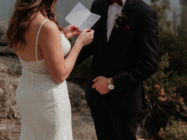 Dallas and Madison's Wedding in Yosemite National Park, California 57