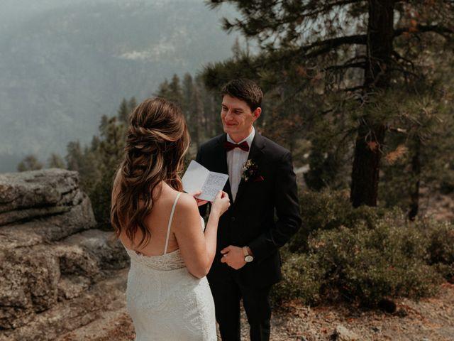 Dallas and Madison's Wedding in Yosemite National Park, California 58