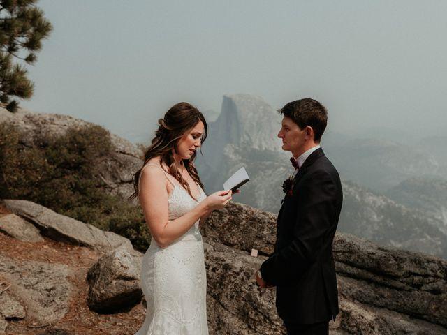 Dallas and Madison's Wedding in Yosemite National Park, California 59