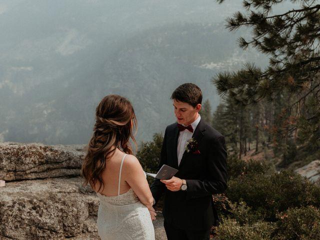 Dallas and Madison's Wedding in Yosemite National Park, California 61