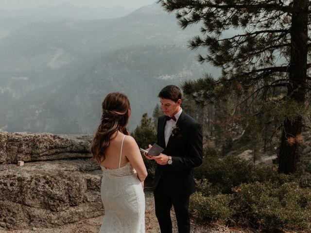 Dallas and Madison's Wedding in Yosemite National Park, California 62
