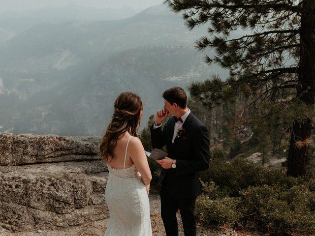 Dallas and Madison's Wedding in Yosemite National Park, California 63