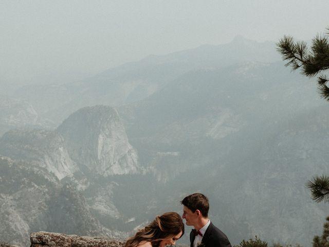 Dallas and Madison's Wedding in Yosemite National Park, California 64