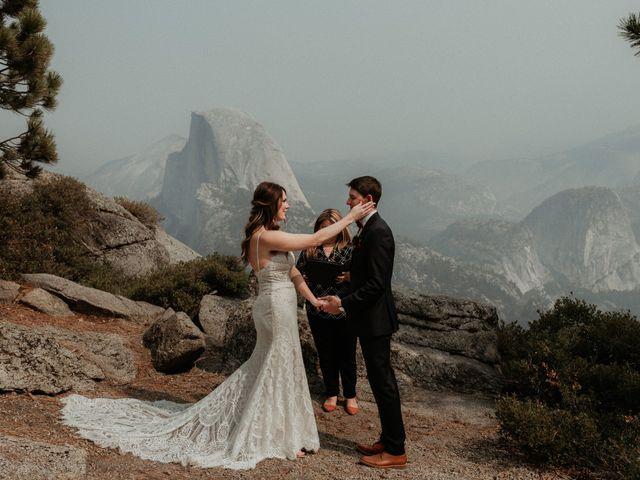 Dallas and Madison's Wedding in Yosemite National Park, California 65