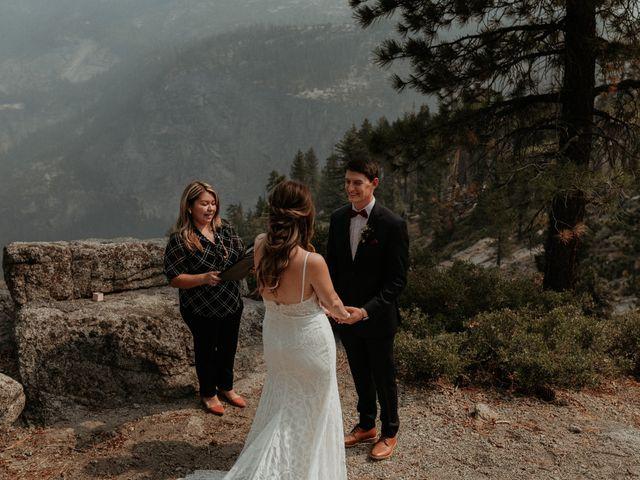 Dallas and Madison's Wedding in Yosemite National Park, California 66