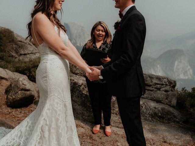 Dallas and Madison's Wedding in Yosemite National Park, California 67