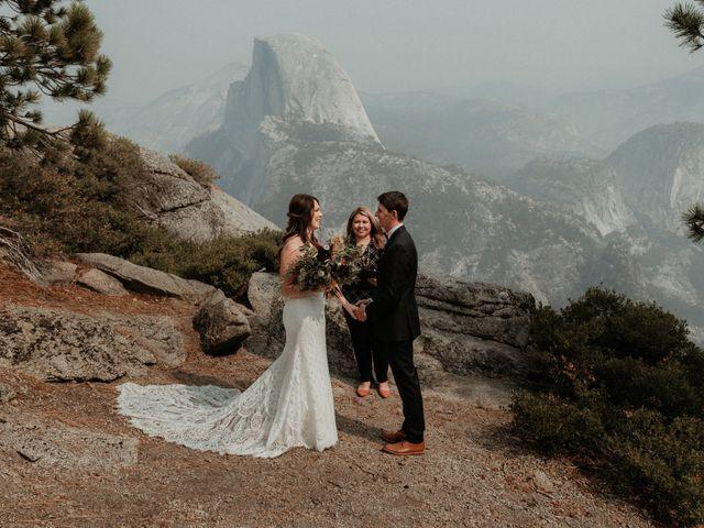 Dallas and Madison's Wedding in Yosemite National Park, California 68