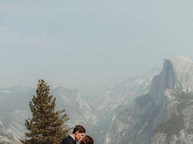 Dallas and Madison's Wedding in Yosemite National Park, California 69