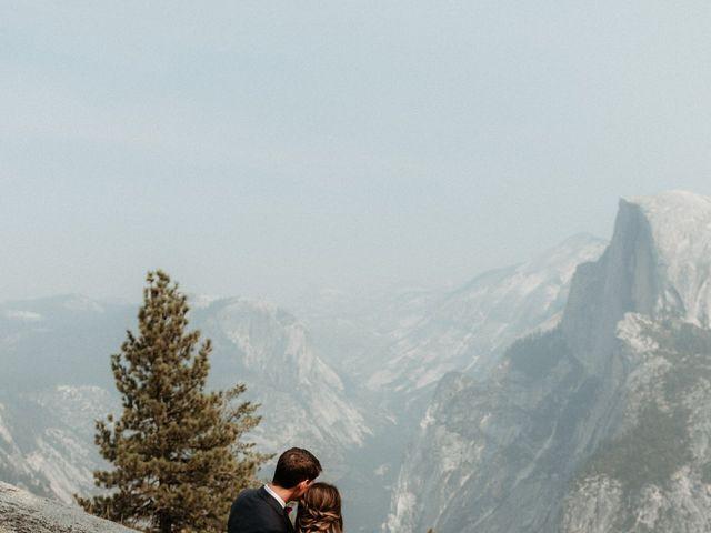 Dallas and Madison's Wedding in Yosemite National Park, California 70