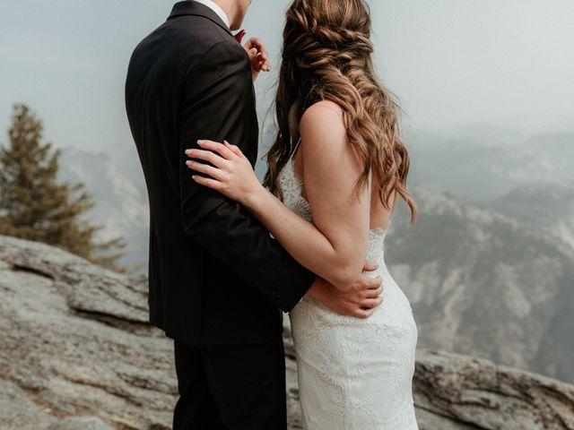 Dallas and Madison's Wedding in Yosemite National Park, California 72