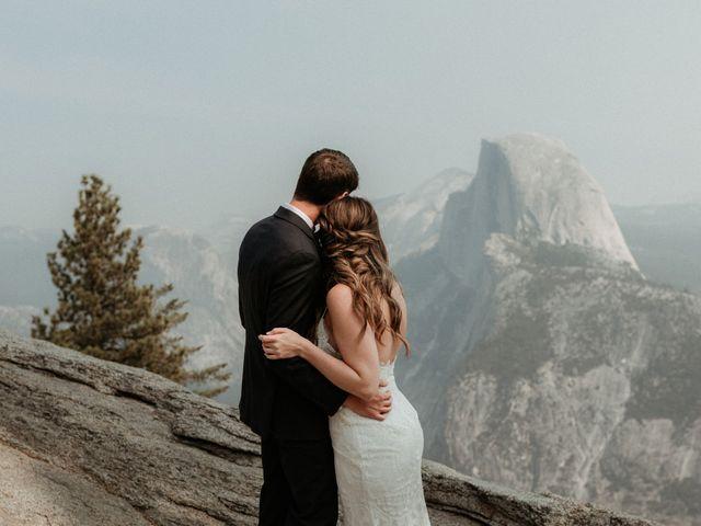 Dallas and Madison's Wedding in Yosemite National Park, California 73