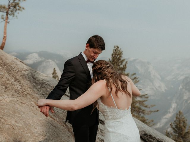 Dallas and Madison's Wedding in Yosemite National Park, California 74