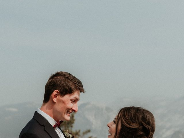 Dallas and Madison's Wedding in Yosemite National Park, California 75