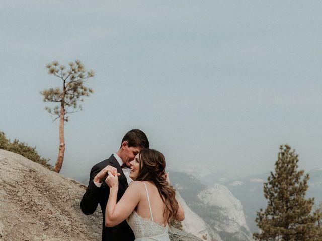 Dallas and Madison's Wedding in Yosemite National Park, California 77