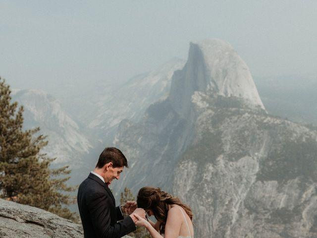 Dallas and Madison's Wedding in Yosemite National Park, California 78