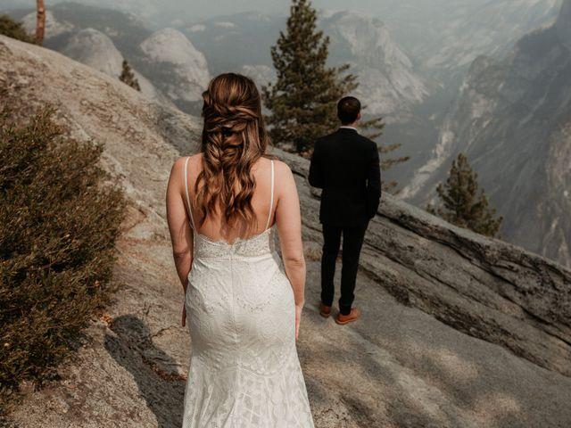 Dallas and Madison's Wedding in Yosemite National Park, California 80