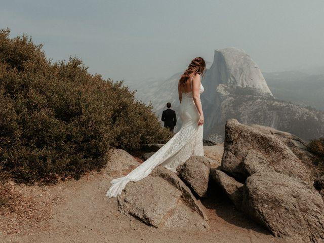 Dallas and Madison's Wedding in Yosemite National Park, California 81