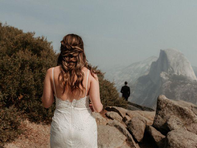 Dallas and Madison's Wedding in Yosemite National Park, California 82