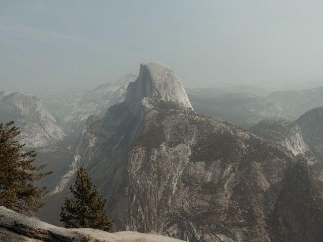 Dallas and Madison's Wedding in Yosemite National Park, California 83