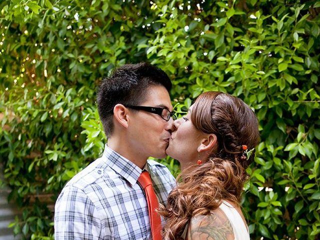 The wedding of Mark and Tiffany