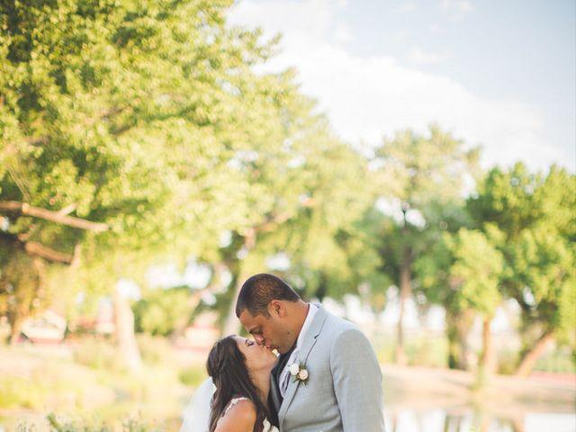 The wedding of Aaron and Rosalyn