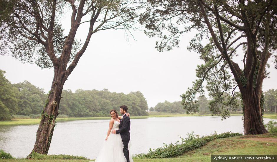 Forrest and Emilee's Wedding in Cape Charles, Virginia