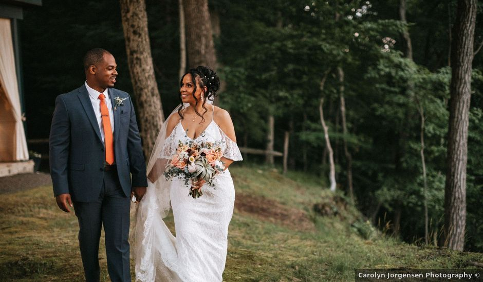 Jaquion and Melissa's Wedding in Stroudsburg, Pennsylvania