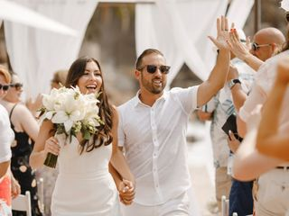 The wedding of Lindsey and Yoni