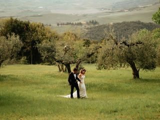 The wedding of Francesca and Timothy