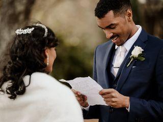 The wedding of Makayla and Justin 2