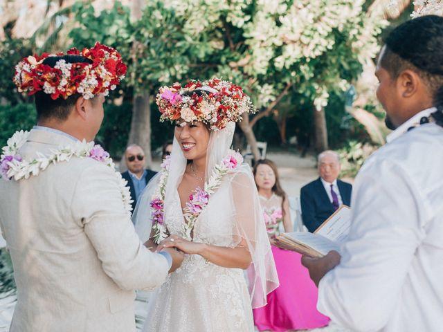 Jay and Noran's Wedding in Bora Bora, French Polynesia 2